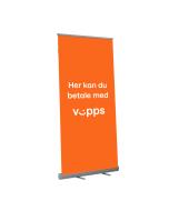 Roll-Up - Her kan du betale med Vipps