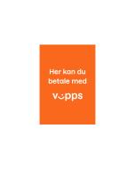 Plakat - Her kan du betale med Vipps