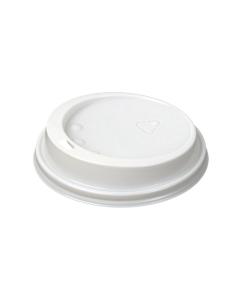 Plastlokk til drikkebeger - pakke á 50 stk